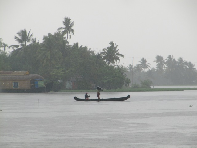 A scene on the backwaters.