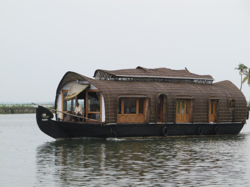 A typical houseboat. They have anywhere from 2-5 bedrooms.