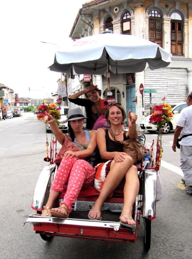 Rickshaw Penang Malaysia