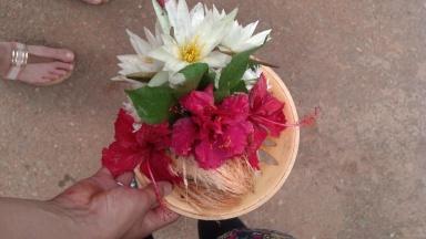 A basket of offerings