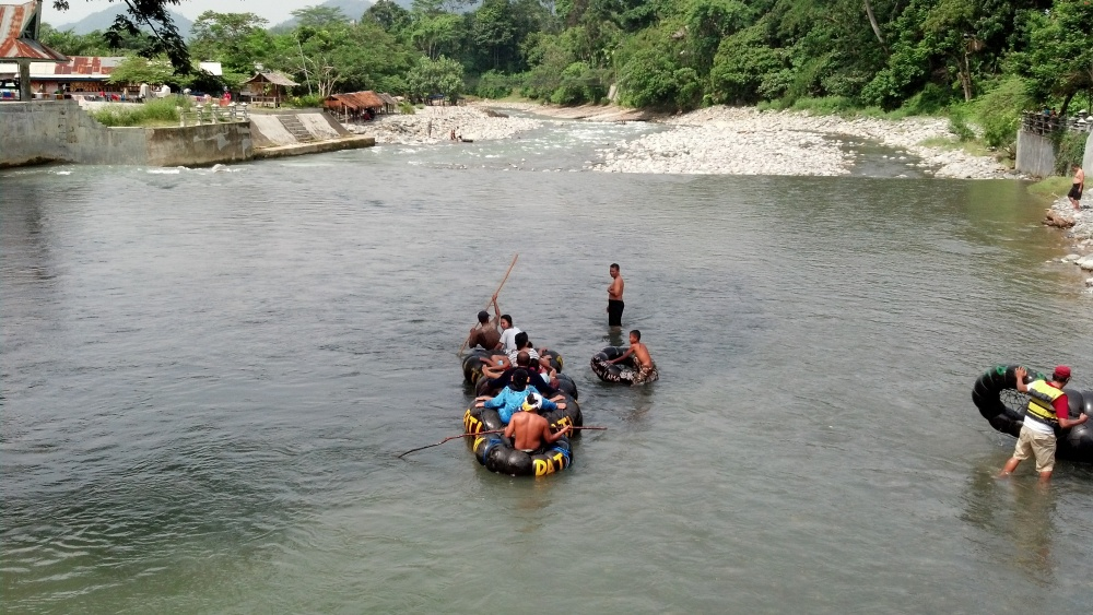 Don't miss the tubing here in Bukit Lawang.