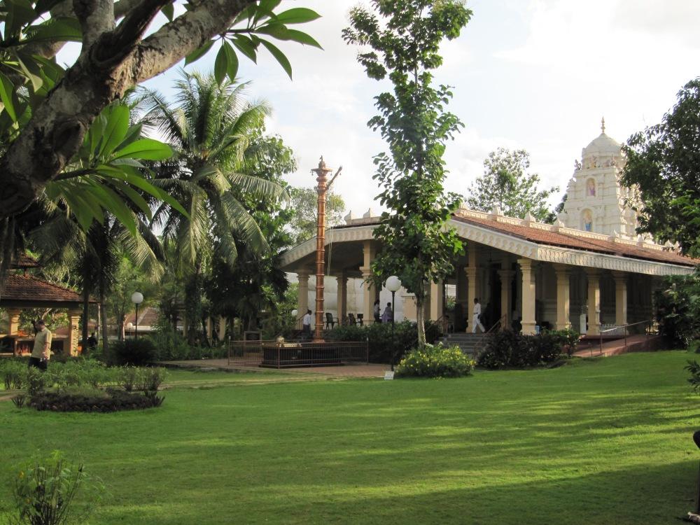 A pretty temple near Goa, India