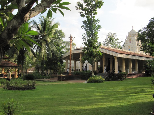 A pretty temple near Goa, India
