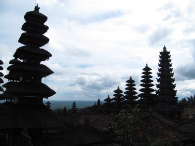 The Mother Temple of Besakih, the biggest and most important Hindu temple in Bali