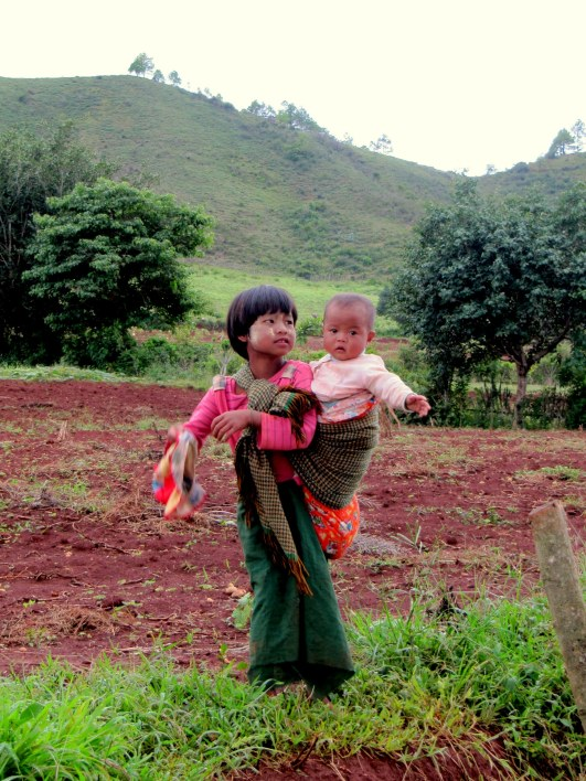 Children in Myanmar