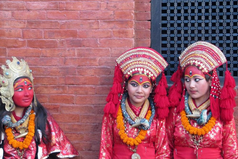 Kathmandu, Nepal street scene