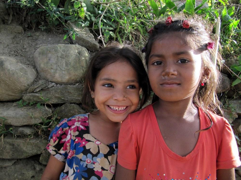 Children in Kathmandu, Nepal
